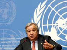 Secretary-General of the United Nations, Antonio Guterres. Photo: Reuters