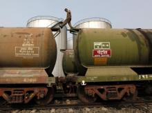 Oil, petrol