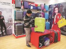 With celebrity endorsers, VIP is in hot pursuit of young consumers