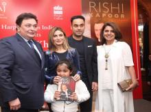 Rishi Kapoor's 'Khullam Khulla' book launch