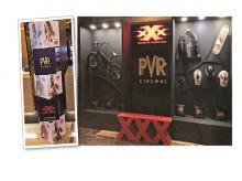 PVR had special XXX zones in certain properties where consumers could purchase branded merchandise and click selfies