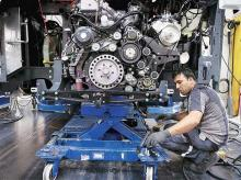 A worker at Amtek Auto | File Photo