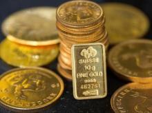 File photo of gold bullion