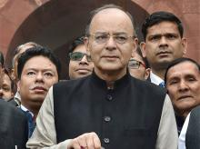 Finance Minister Arun Jaitley. Photo: PTI
