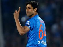 Ashish Nehra, 37, Cricket, opens bowling for India in T20 cricket