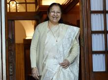 Lok Sabha Speaker Sumitra Mahajan. Photo: PTI