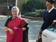 Samajwadi Party leader Jaya Bachchan. Photo: PTI