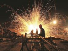 Eurozone industrial output declines, largely due to drop in energy