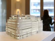 A model of the Canalejas shopping complex which will house Spain's first Four Seasons hotel