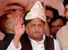Samajwadi Party founder Mulayam Singh Yadav. Photo: PTI
