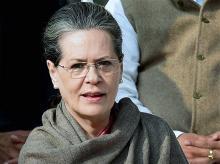Congress President Sonia Gandhi. Photo: PTI