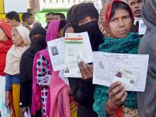 Up assembly polls, Women, queue, Amethi, fifth phase, Assembly elections, Uttar Pradesh