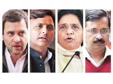 BIG LOSERS: It's time for the big Opposition leaders to do some soul searching. In Samajwadi Party, Akhilesh Yadav (second from left), who put his neck on the line to tie up with the Congress, would face tough questions. While Rahul Gandhi (left) and