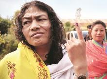 After her dismal showing,  Irom Sharmila announced that she would quit politics