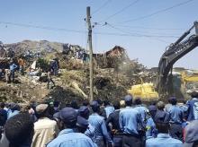 Ethiopia garbage dump landslide