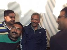 TS Rawat meets BJP supporters