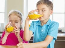 juice, children, health