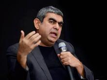 Vishal Sikka. Photo: PTI