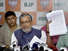 Sushil Modi fires corruption salvo against Rabri Devi
