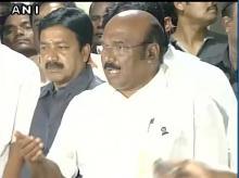 Tamil Nadu Finance Minister D Jayakumar