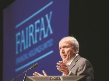 Fairfax Financial Holdings Chairman and CEO Prem Watsa
