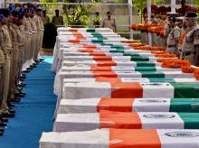 Twenty six Central Reserve Paramilitary Force jawans were killed in an ambush by Maoists in Chhattisgarh's Sukma district on April 24, 2017. Photo: Reuters
