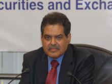 Ajay Tyagi, Sebi chief