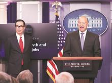 Gary Cohn, Trump, tariffs plan, trump