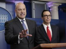 US jobs, Gary, Cohn, Steven, Mnuchin