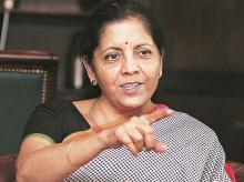 Union Minister of State for Commerce and Industry Nirmala Sitharaman