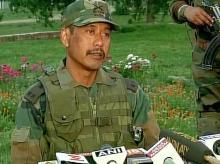 File photo of Major Leetul Gogoi