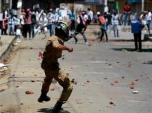 Kashmir unrest, Protest