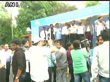 Doctors strike in Delhi (Photo: ANI)