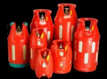 Composite cylinders for LPG