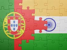 Portugal, India, flag