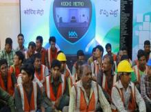 Kochi Metro, Kochi Metro workers