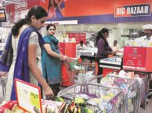 Future retail, Big Bazaar, customers