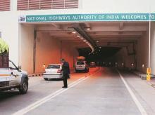 The Chenani-Nasri tunnel in Jammu and Kashmir