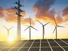 Renewable energy, solar, wind