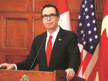 Steven Mnuchin, US Treasury secretary