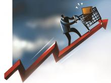 Consumer stocks' valuation at new high