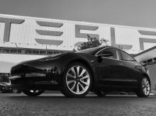 File photo of Tesla Model 3
