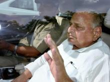 Samajwadi Party leader Mulayam Singh Yadav