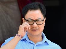 MoS for Home Affairs Kiren Rijiju
