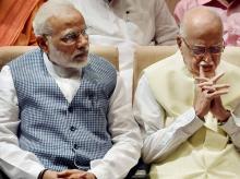 Narendra Modi, L K Advani
