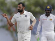 Mohammed Shami, Gallle Test, India, Sri Lanka, Cricket