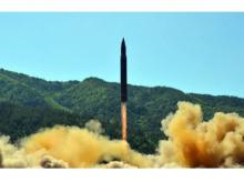 File photo: North Korea ballistic missile launch. Photo: Twitter