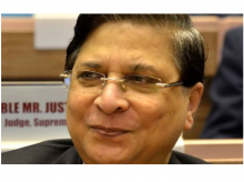 Justice Dipak Mishra, Chief Justice of India