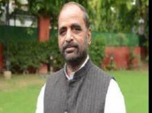Hansraj Ahir, MoS for Home Affairs
