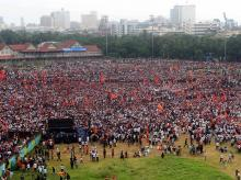 Maratha march in Mumbai